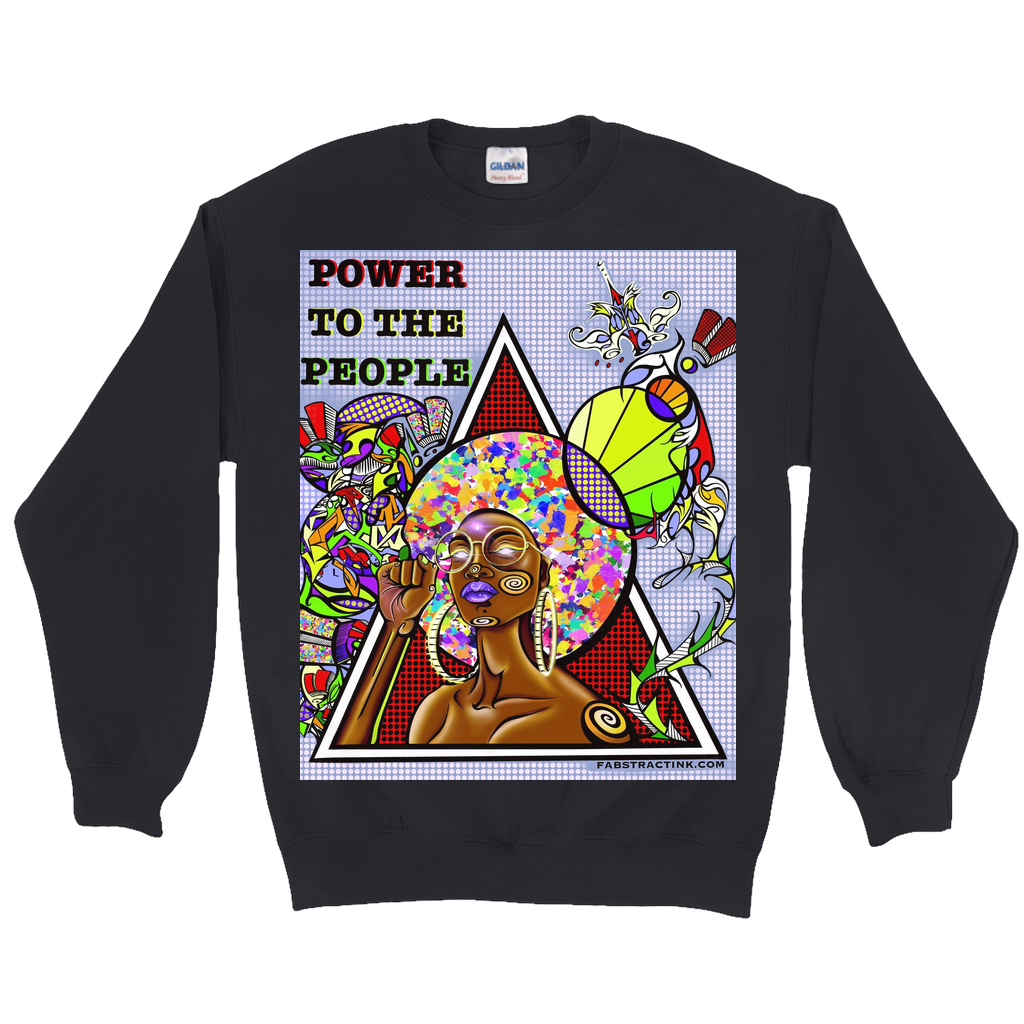 'POWER TO THE PEOPLE' Sweatshirts
