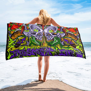 'Ratrodzz' Beach Towel