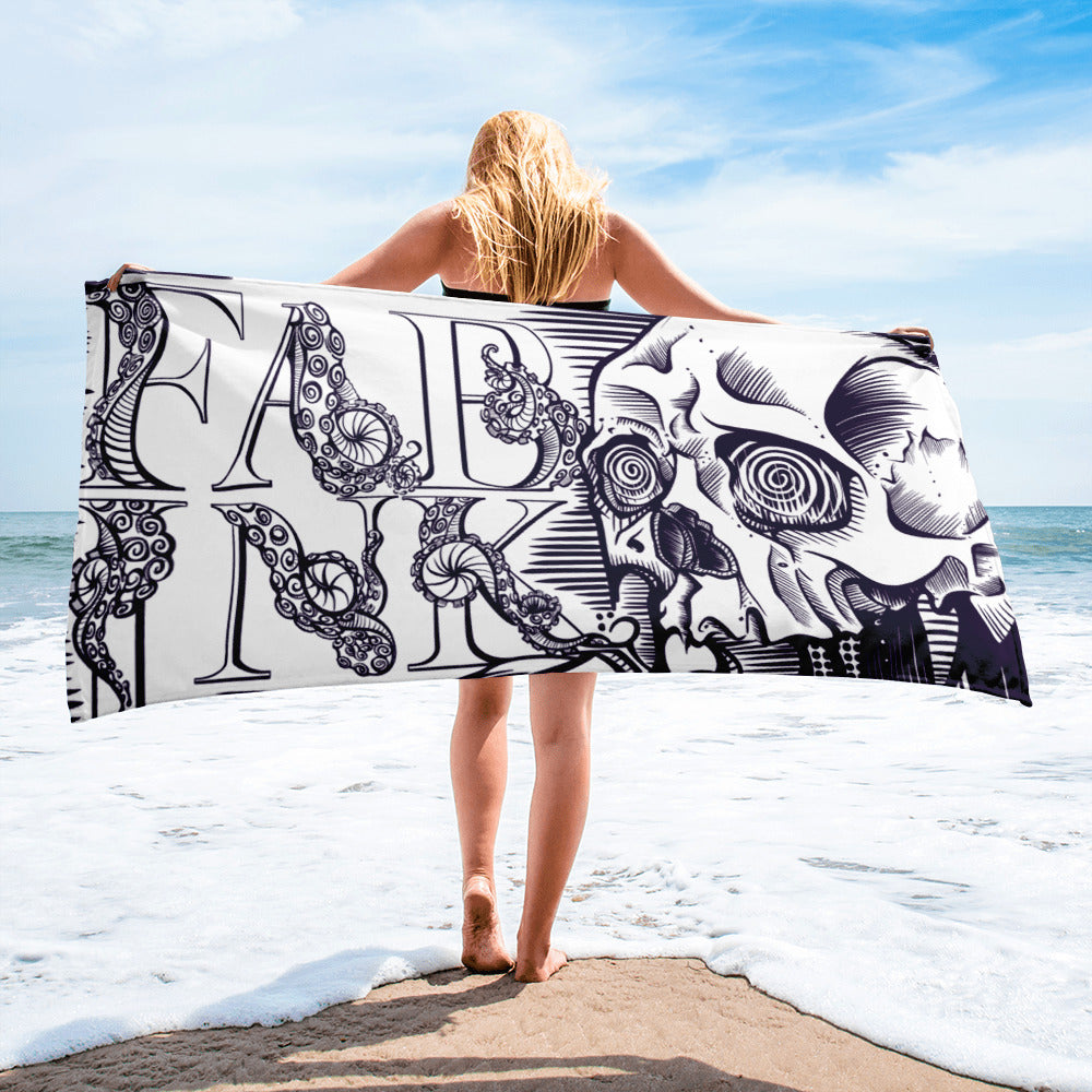 'Lingua' Beach Towel