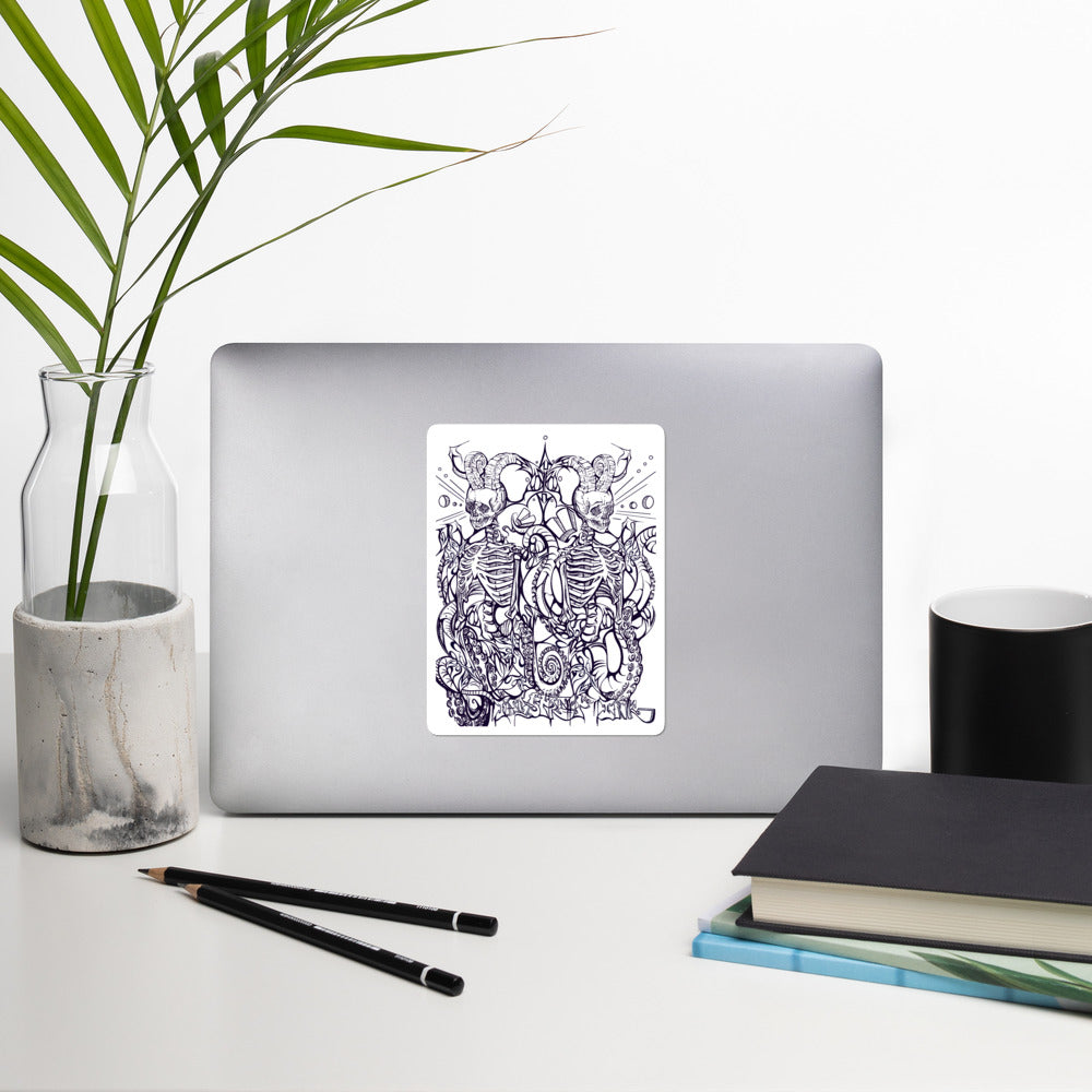 'ABUNDANCE' Bubble-free Vinyl sticker