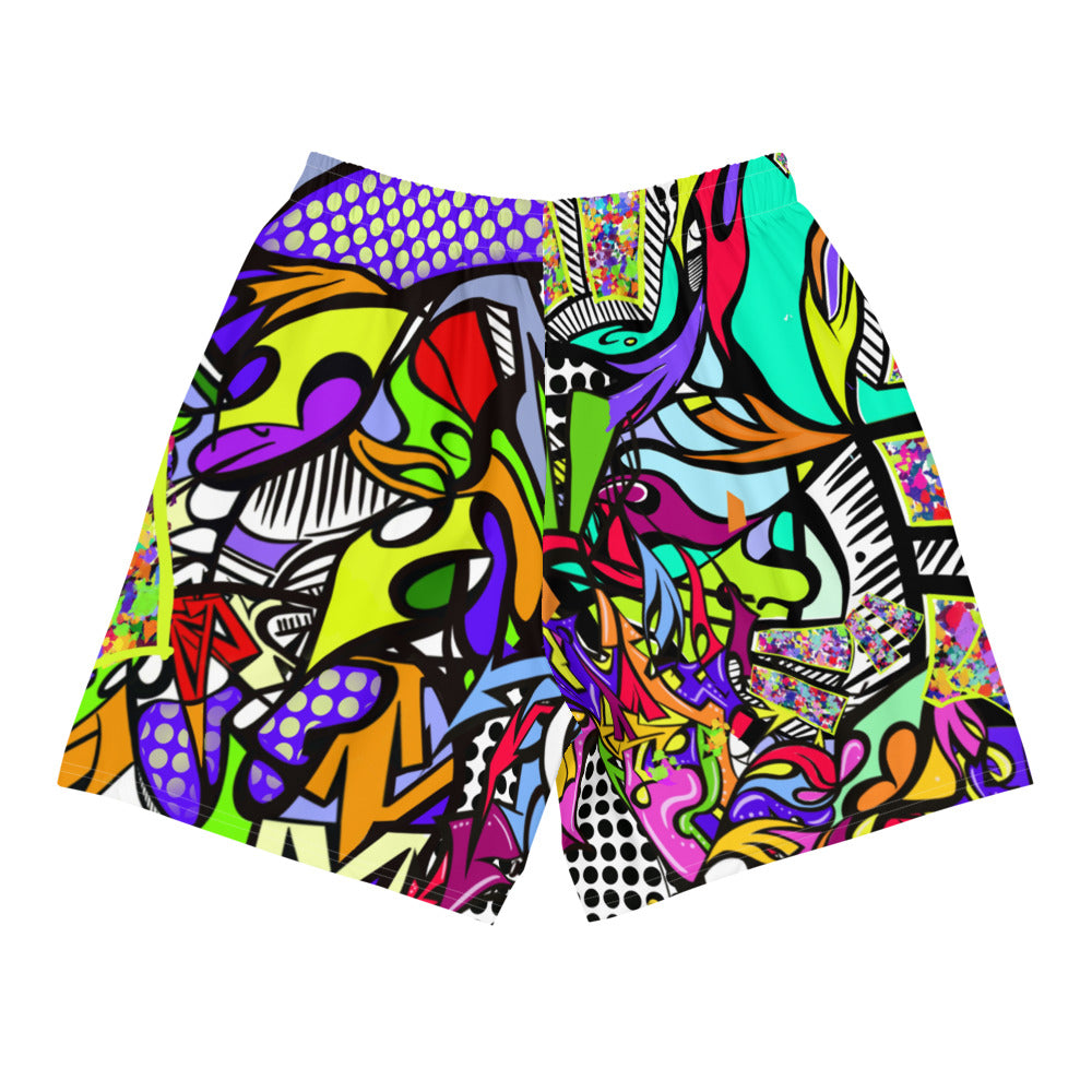 'BAM' Men's Athletic Long Shorts