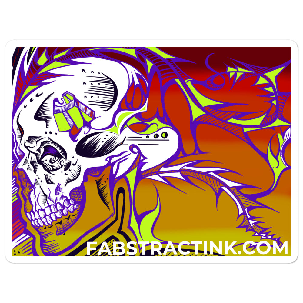 'Ratrod' Bubble-free Vinyl Sticker