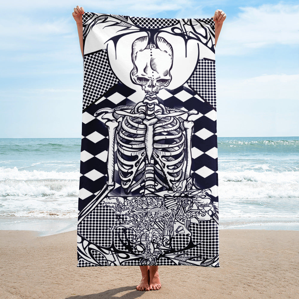 'Feast' Beach Towel