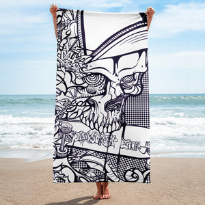 'Gnarlz' Beach Towel