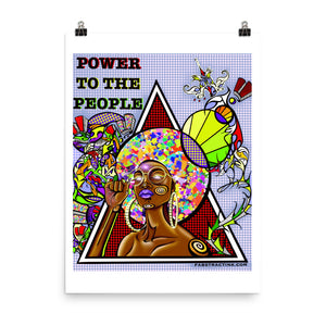 'POWER TO THE PEOPLE' Poster