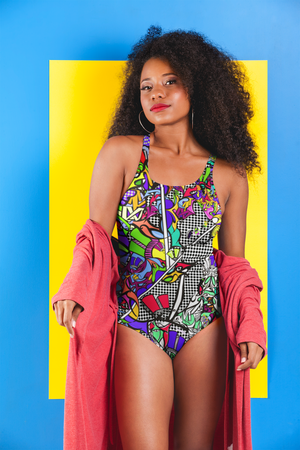 'BAM' One-Piece Swimsuit