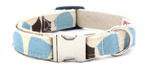 Organic Fabric Collar in Avalon