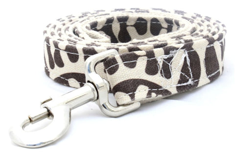 Organic Fabric Leash in Lulu