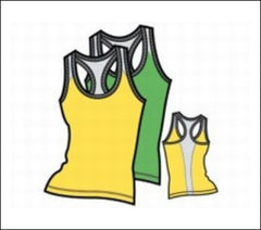 Ladies' Base Layer Racerback Tank