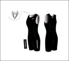 Ladies' Aropec Black Tri Suit
