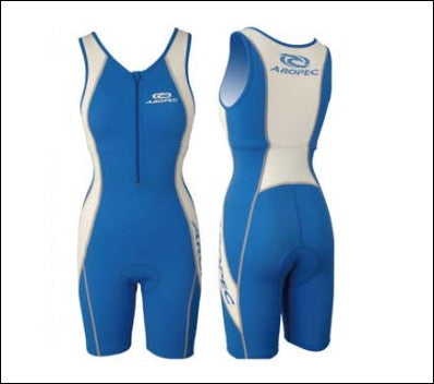 Ladies' Aropec BL/WT Tri Suit