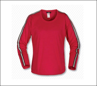 Ladies' Quick Dry Reflective L/S Shirt