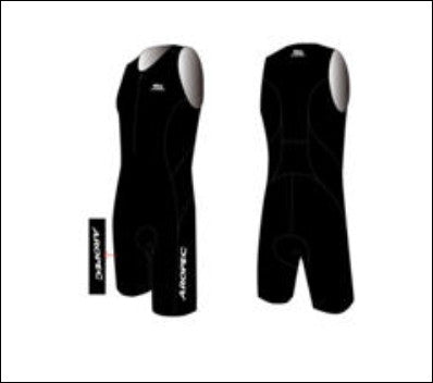 Men's Aropec Black Tri Suit