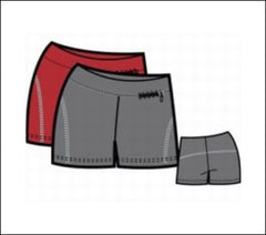 Ladies' Training Layer Shorts