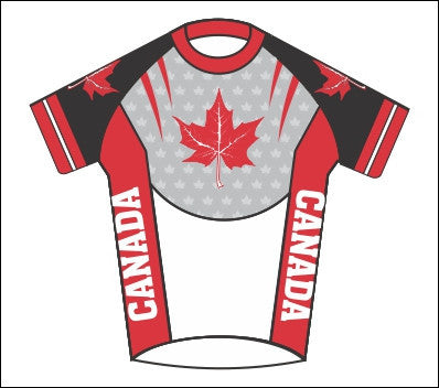 Ladies' Canada Cycling Jersey