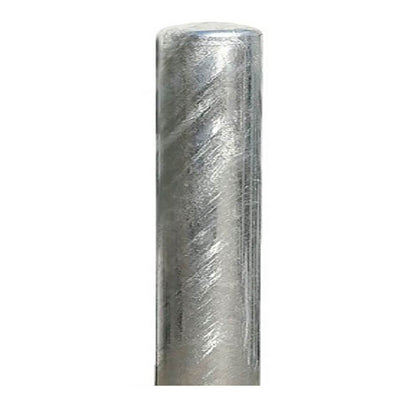 270mm diameter steel bollard in a galvanised finish