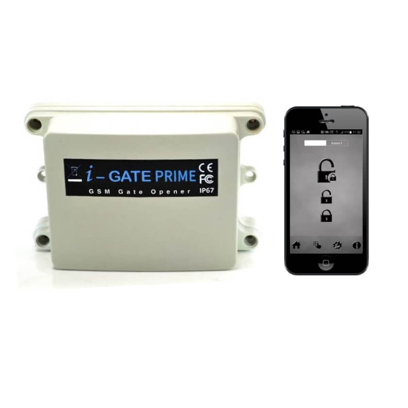 AES I-Gate Prime GSM dial to open unit