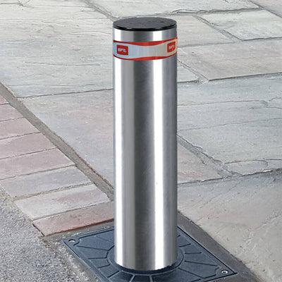 Easy 500 stainless steel automatic rising bollard
