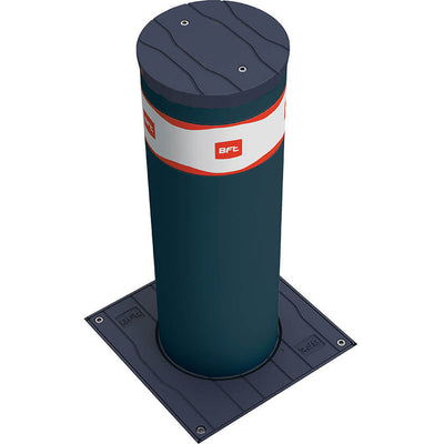 BFT MBB 700 Automatic rising bollard in graphite grey.