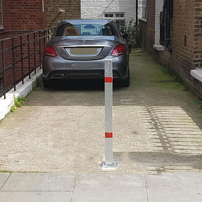 Controller-A fold down parking post.