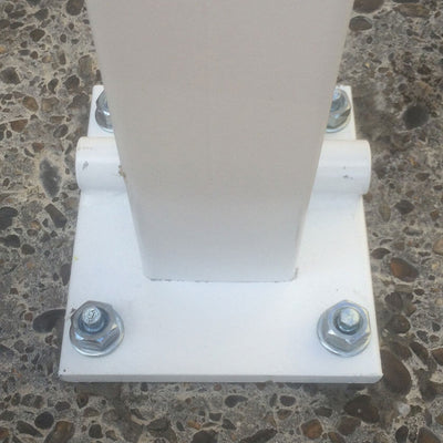 The Controller-A fold down parking post base plate.