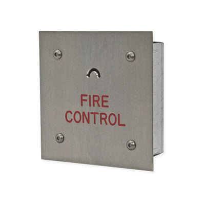 Crescent key fireman switch