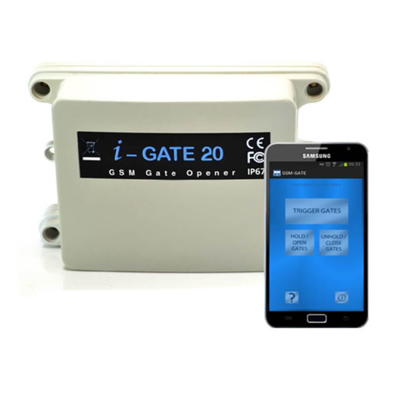 AES i-Gate 20 GSM Gate Opener
