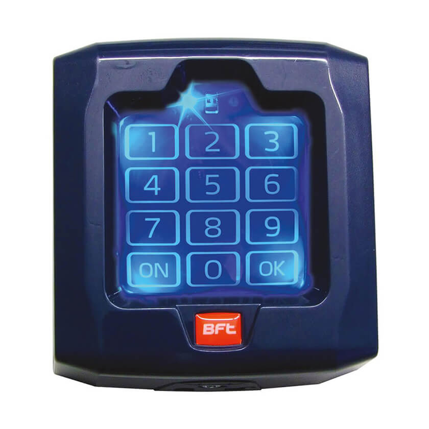 BFT Touch keypad