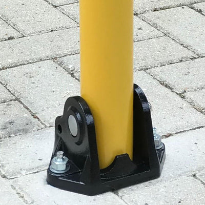 KYP1 Fold down parking post ground fixing plate