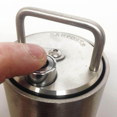 10 Pin push button top lock