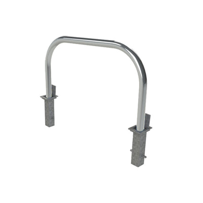 76mm tube stainless steel removable hoop barrier.