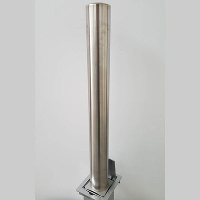 RLO 114mm diameter stainless steel removable bollard
