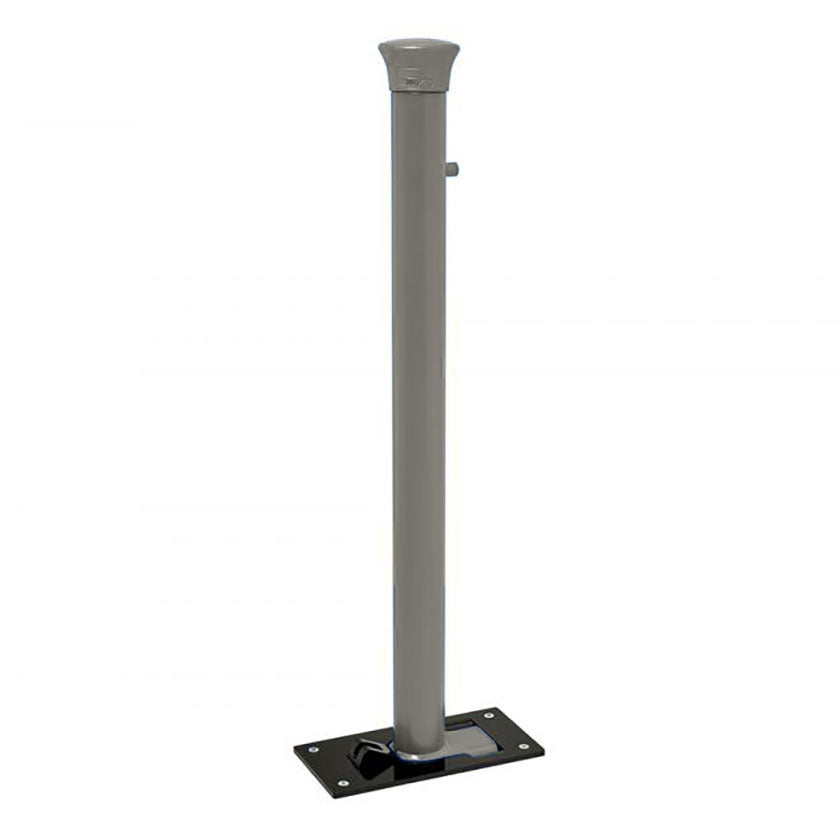Forum Soli-Block fold down post in Grey