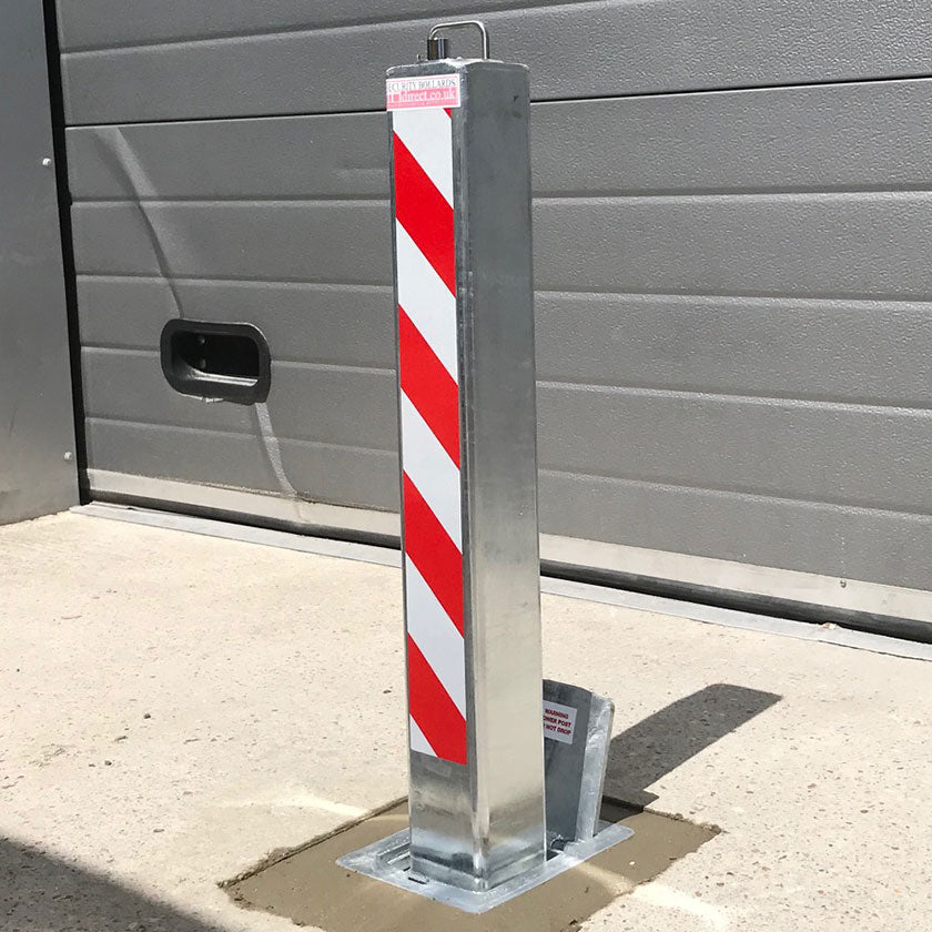 SQ8 high security anti-ram raid telescopic bollard