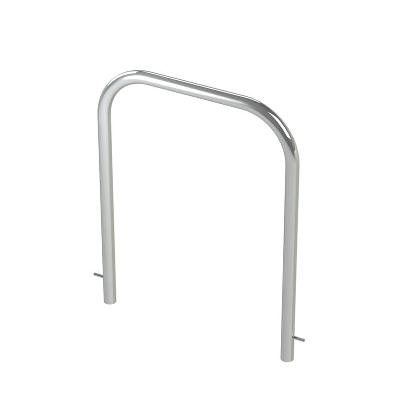 48mm tube stainless steel fixed hoop barrier