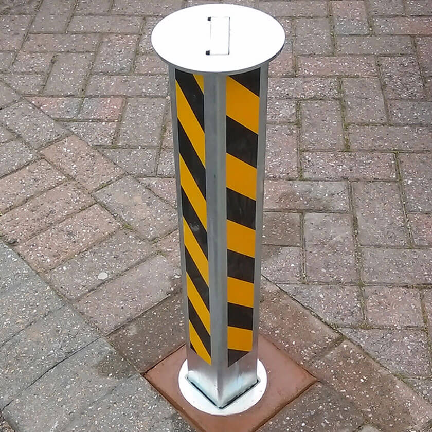 TP-80 Telescopic security post