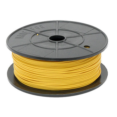 0.75mm 14 AMP 12V single core cable in Yellow