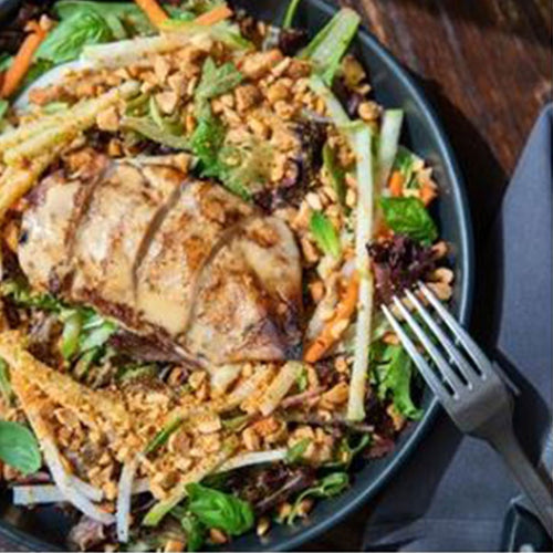 Sesame-Chili Chicken Salad