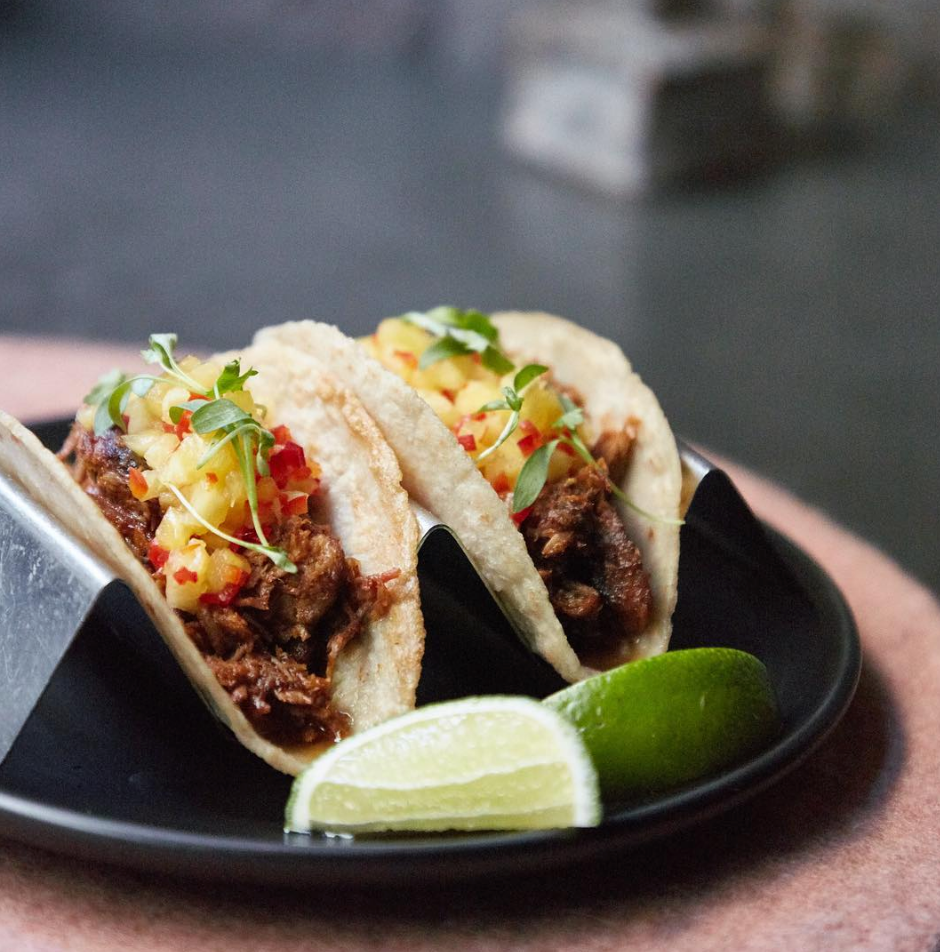 Barbecue Pork Tacos