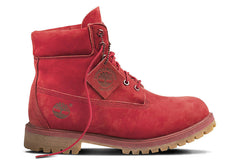 "Timberland 6"" Premium Waterproof Boots Red"