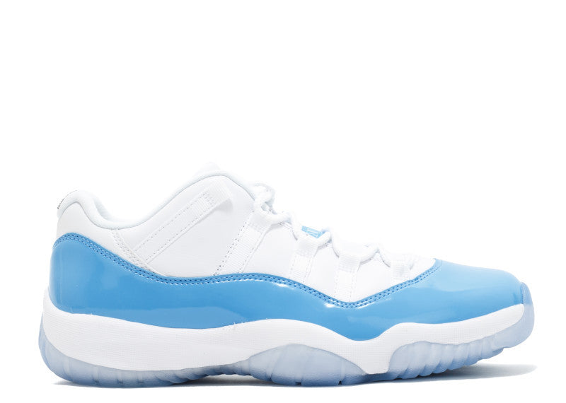 AIR JORDAN 11 XI LOW COLUMBIA / CAROLINA / UNC