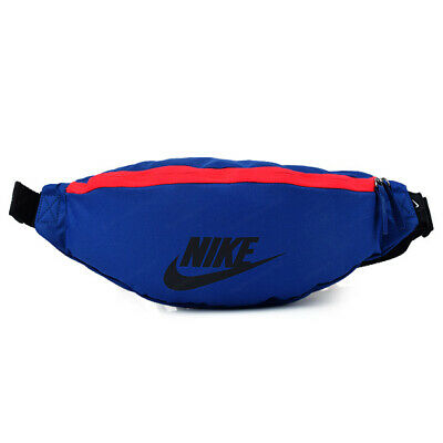 Nike Heritage Waist Pack Blue / Red