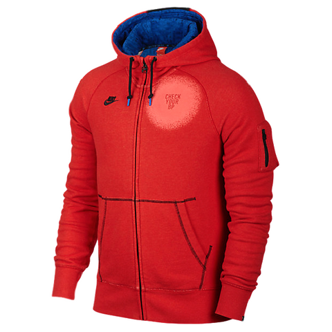 NIKE TECH FLEECE AW77 FULL-ZIP DOERNBECHER JACOB BURRIS