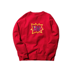 Kith x Rugrats Crewneck Red