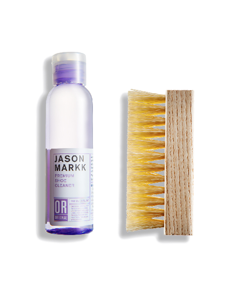 Jason Markk Essential Kit 4oz Solution + Brush Combo
