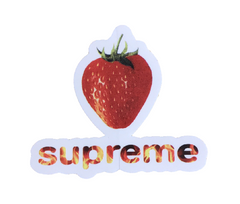 Supreme Strawberry Sticker SS16