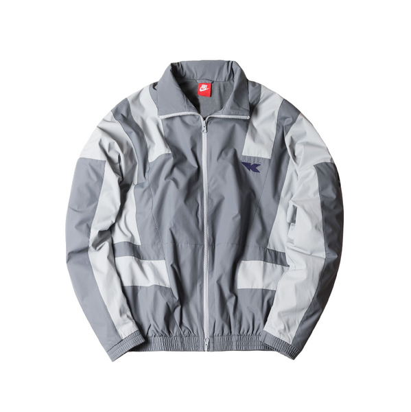 Kith x Nike Flight Windbreaker Grey