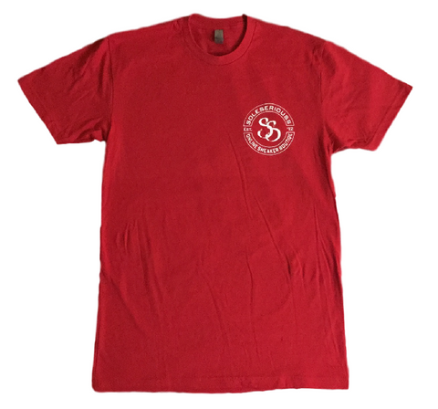 SOLESERIOUSS Stamp Tee Red / White (S/S)