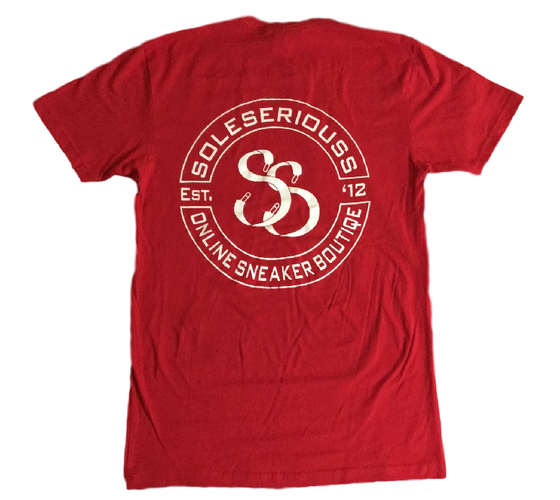 Sole Seriouss Stamp Tee Red / White (S/S)