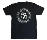 SOLESERIOUSS Stamp Tee Navy / White (S/S)